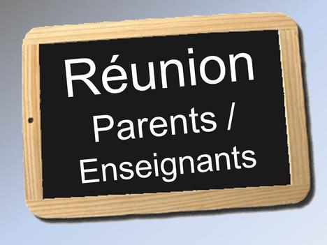 Réunion parents-enseignants